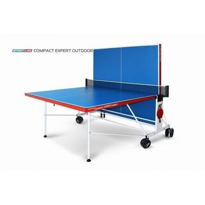 Теннисный стол Compact Expert Outdoor. Всепогодный, складной