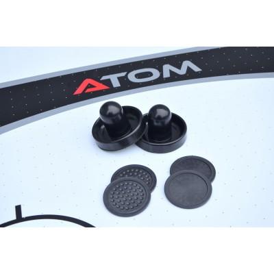 Аэрохоккей Atom 7 футов (213 х 122 х 81 см, черный)
